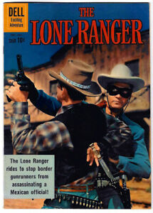 The LONE RANGER #137 in FN/VF a 1961 DELL Silver Age comic Clayton Moore cover