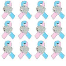 12 - Infant Loss Awareness Ribbon Brooch Pins (Pkg of 12)