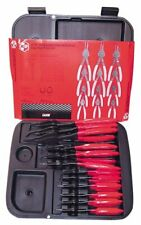 Kd Tools Kds3495 Gearwrench 12-piece Fixed Tip Convertible Snap Ring Plier Set