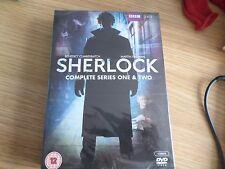 SHERLOCK  - SERIES 1-2  BENEDICT CUMBERBATCH NEW SEALED FREE UK POST