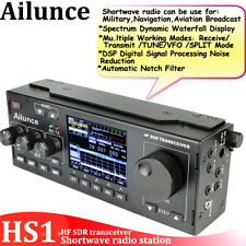 Shortwave Radio Station Ailunce HS1 HF SDR Transceiver Aviation Broadcast SSB CW