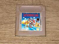 Super Mario Land 1 Nintendo Game Boy Cleaned & Tested Authentic