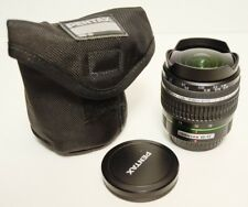 SMC Pentax DA Fisheye Fish Eye3.5-4.5 10-17mm ED(IF) Lens for PENTAX DSLR Used