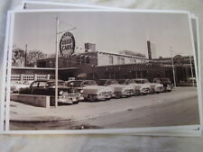 1950 'S CADILLAC DEALERS USED CAR LOT  USED CADILLACS  11 X 17  PHOTO PICTURE