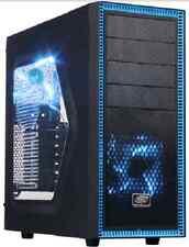 QUAD CORE GAMING PC Nvidia GTX 1050 Ti Graphics Card 8GB 1TB Custom Built 4GHZ