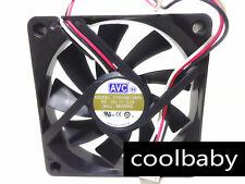 AVC  F7015B12MN 12V 0.2A fan 70*70*15MM 3Pin