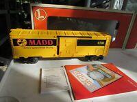 Lionel 6-26239 M.A.D.D. Boxcar in original Box