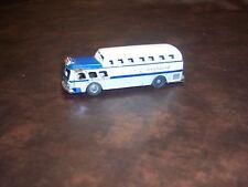 Express - Greyhound -Tin Toy Bus - Friction Good - Used - Adult Displayed Item