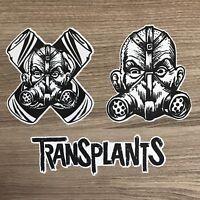 Transplants Vinyl Sticker Set - Free Shipping