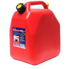 Sceptre 25L Red Fuel can - Jerry Can - Dumpy - with anti glug spout