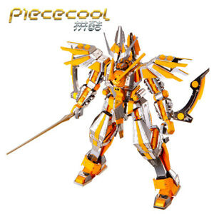 NEW Piececool 3D Metal Nano Puzzle Crescent Blade Armor Assemble Jigsaw Toys