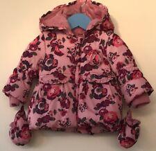 Baby Girls Hooded Coat 3-6 M&Co <H4815