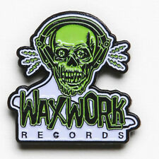 Waxwork Records Ghoul Logo Enamel Pin Badge - New
