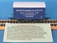 Dapol John Stephens, Son & Co Ltd Ventilated Van Nº 31 LE of 102 Boxed
