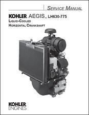 Kohler LH630 a LH775 Aegis motor refrigerado por líquido Manual de servicio (B401)