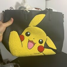 Loungefly Pokemon Pikachu Waving Tote Bag With Strap
