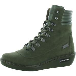 Kenneth Cole Reaction Womens Rhyme Green Hiking Shoes 6 Medium (B,M) BHFO 2421