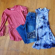 Girls Fall Clothing 6/7 Lot Justice