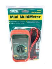 Digital Multimeter By Extech Model Mn25 Measures Acdc Voltage