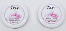 Dove Beauty Scented Skin Cream Nourishing & Moisturizing.Pink. 2.53FO, Pack of 2