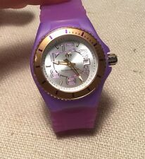 Techno Marine Purple Cruise Jellyfish Quartz Ladies Watch