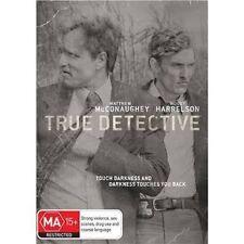TRUE DETECTIVE-Season 1-Region 4-New AND Sealed- 3 DVD Set-TV Series