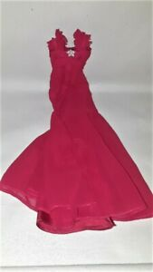 Barbie Model Muse Holiday Red Dress Ball Gown Go Women