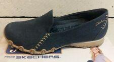 Ladies Skechers 49494 Smokin Navy Denim Slip On Shoes