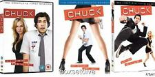 CHUCK COMPLETE SEASONS 1,  2 & 3 BRAND NEW & SEALED