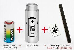 YASHICA ELECTRO 35 G, GL, GS, GT, GSN, GTN, MG-1, AX.- ADAPTER + BATTERY + KIT