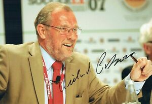 Richard CABORN SIGNED Autograph Photo A AFTAL COA Labour Minister MP For Sport