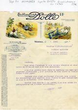 Dépt 70 - Vesoul - Superbe Entête Quadrichromie Matériel Agricole de 1927