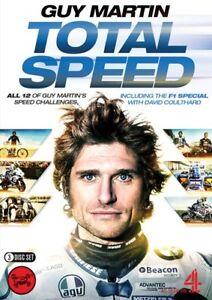 GUY MARTIN - TOTAL SPEED 3 DVD BOX SET (Incl 1,2,3 & F1 Special) - F1 & TT DVD
