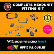 Connects 2 ctkft 02 Stéréo Double DIN Kit de montage Fascia Harnais pour FIAT 500