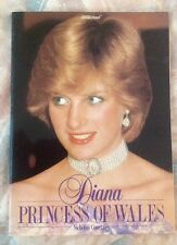 Princess Diana Early Illustrated Biography Book From England 1982