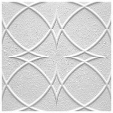 10 Mq. Pannelli per Soffitto di Polistirolo Decorativi Eps Deckenfliesen 50x50