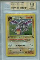 Aerodactyl #1 Fossil 1st Edition Pokemon BGS 9.5 Prerelease Holo Card 5311