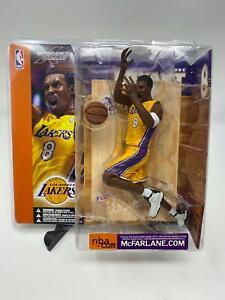 Kobe Bryant Action Figure McFarlane NBA SportsPicks Series Yellow Jersey (NEW)