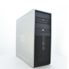 Fast HP Desktop Computer Tower 2.0GHz Dual Core 4GB RAM 80GB HD Windows 10 Home