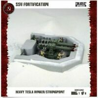 Dust Tactics SSU Fortification Heavy Tesla Bunker Strongpoint - FFG Brand New