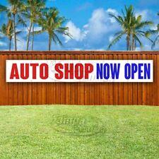 Auto Shop Now Open Advertising Vinyl Banner Flag Sign Large Huge Xxl Size