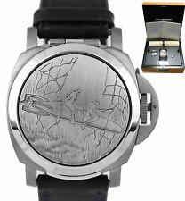 Panerai PAM 76 Luminor Blackseal Mirror Titanium Automatic 44mm PAM00076 Watch