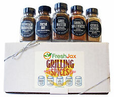 Grilling Spice Gift Set - Handcrafted by FreshJax in Florida - Birthday Gift +