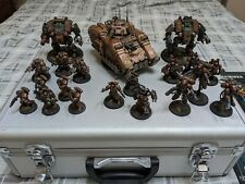 Space Marine Army, Well Painted, with case and Codexes