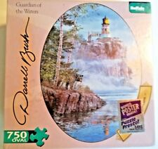 Darrel Bush Guardian of the Waters 750 Piece Oval Puzzle