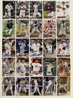 2017-2020 New York Yankees 25-card Team Lot (Bowman/Topps, no duplicates)