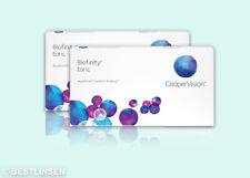 Biofinity Toric for Astigmatism 2x3 Stück Monatslinsen Cooper Vision
