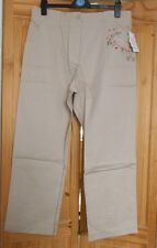 NEW embroidered STONE cargo pants TROUSERS plus size 30 * Simply Be