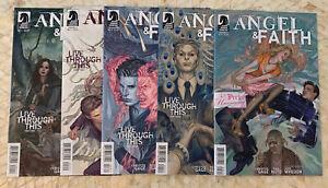Angel and Faith complete Season 9 #1-25 Dark Horse Buffy Angel & Faith + Extras