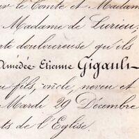 Amédée Charles Etienne Gigault De Crisenoy 1863